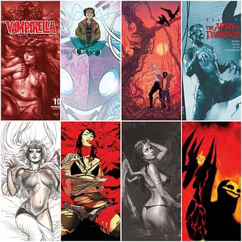 FOC Cover Stories From Boom and Dynamite - From Red Sonja to Red Mother