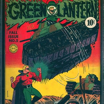Green Lantern 5, Fall 1942, DC Comics.