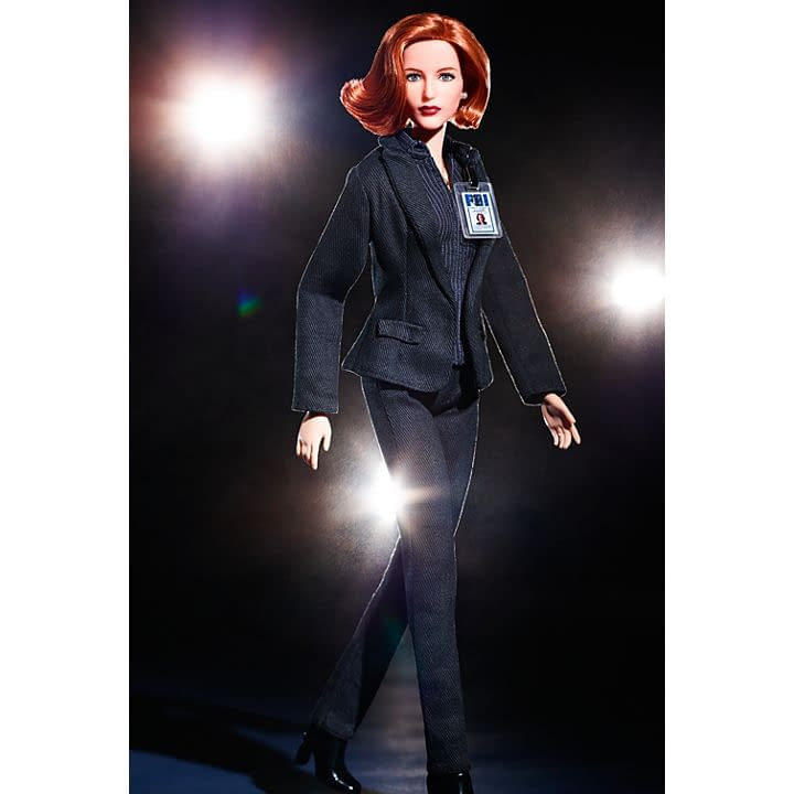 Mattel Releasing Mulder, Scully Barbies for 'The X-Files' 25th Anniversary