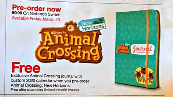 "Snag a Special Journal with ""Animal Crossing: New Horizons"" at Target"