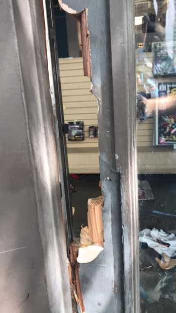 Comic Stores Hit By Looting Across the USA.