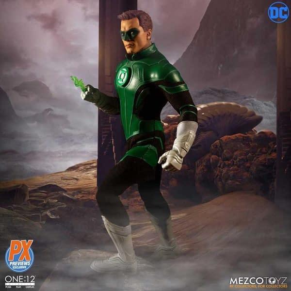 One 12 Collective Previews Exclusive Green Lantern Hal Jordan 3