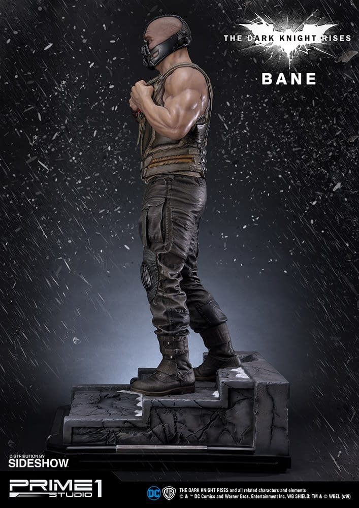"Bane Gets a New ""The Dark Knight Rises"" Statue from Prime 1 Studio"