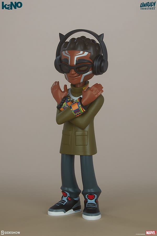 Marvel Designer Collectible Figures from Unruly Industries Black Panther