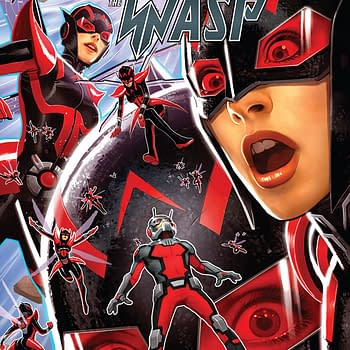 Ant-Man and the Wasp #3 cover by David Nakayama
