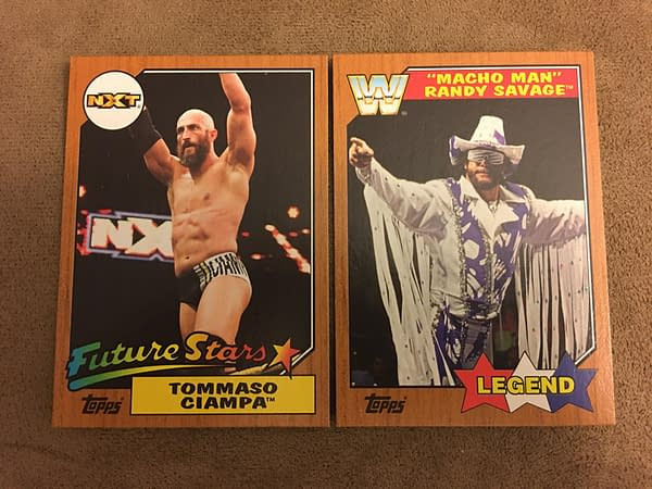 Topps 2017 WWE Heritage Cards 7