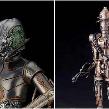 Star Wars Bounty Hunters 4-LOM and IG-88 Coming from Kotobukiya