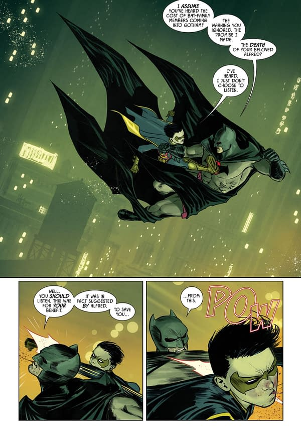 Setting The Scene For The Magic Trick Of Batman #77