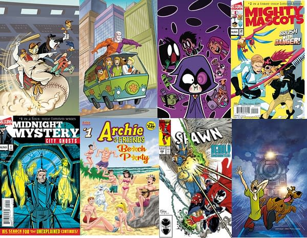Eleven $2.99-And-Under New Comics Remaining In the Direct Market...