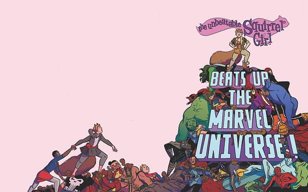 Unbeatable Squirrel Girl Beats Up The Marvel Universe - Cover
