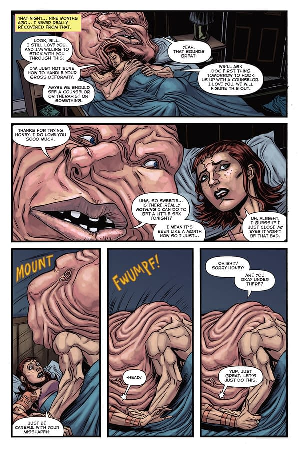 NYCC Debut: God Hates Astronauts Issue #3