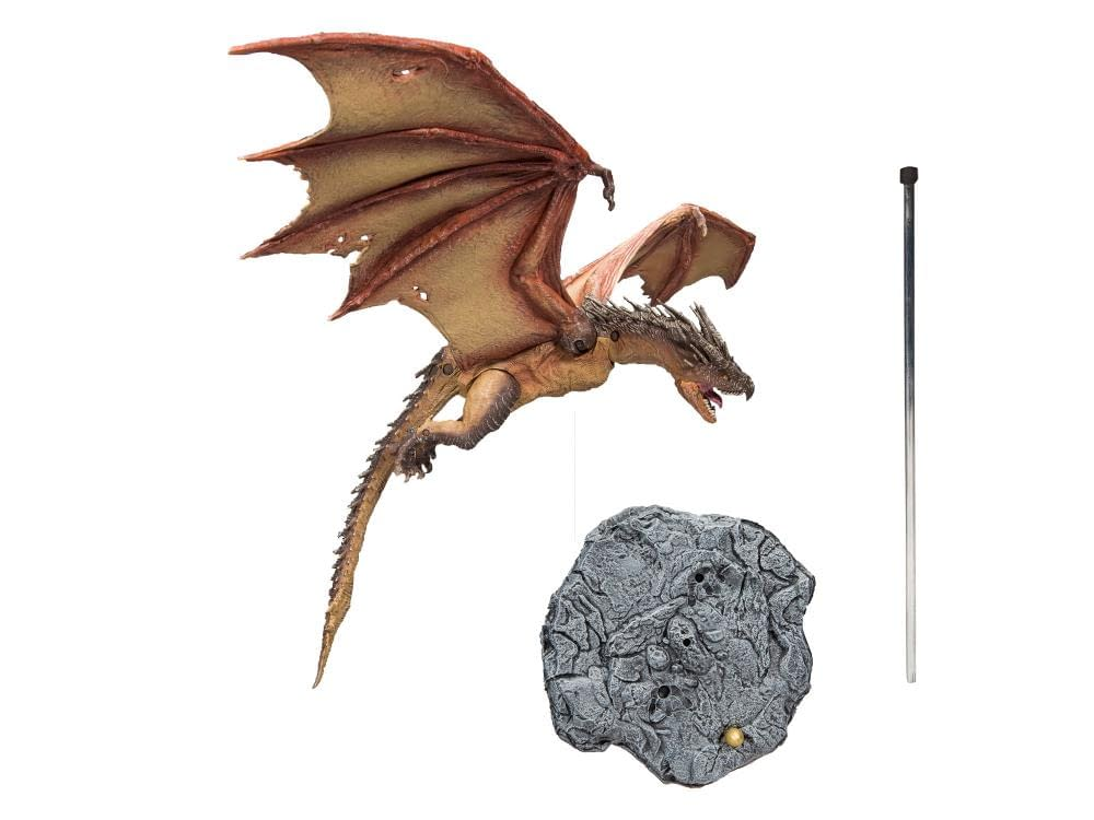 "Hungarian Horntail from ""The Goblet of Fire"" Arrives from McFarlane Toys"