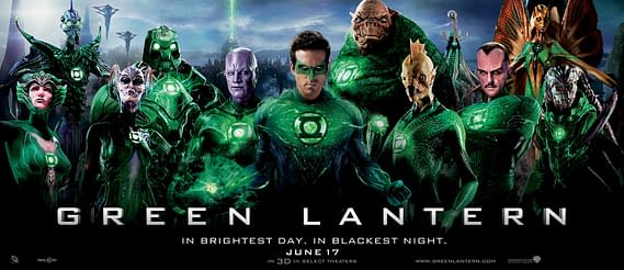 "Green Lantern Banner Asks ""Can You Name Them All?"""