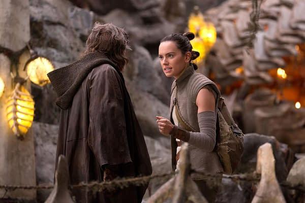 Daisy Ridley in Star Wars: The Last Jedi