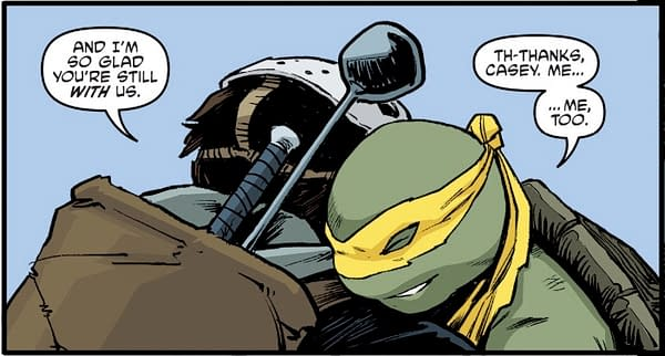 New Female Turtle Jennika Finally Dons Her Mask in TMNT #97