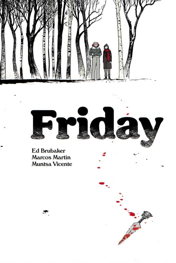 The cover of Friday #1 distributed by http://panelsyndicate.com/