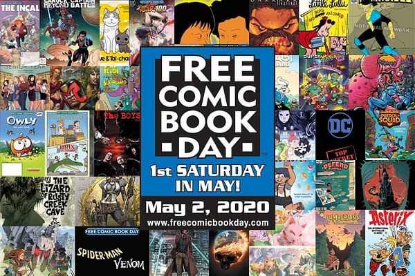 Free Comic Book Day is 'Full Steam Ahead' For 2020, Despite Coronavirus