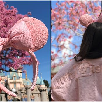 Millennial Pink Minnie Ears and Spirit Jerseys Hit Disney Parks in April