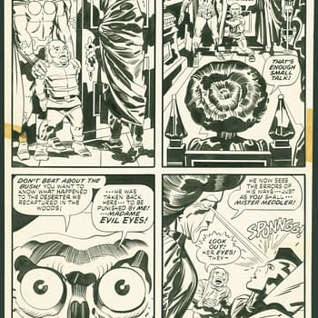 Mister Miracle #14 Page 8 by Jack Kirby. Credit ComicConnect