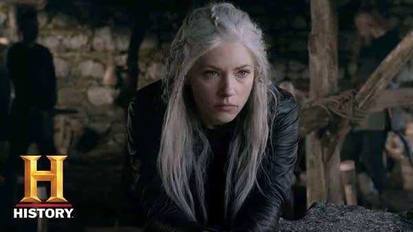 Vikings: Lagertha Refuses To Leave Her Home   Season 5 Returns Nov. 28 at 9/8c   History