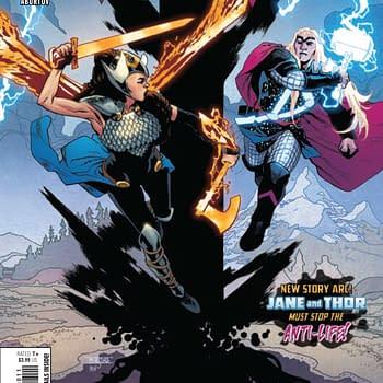 Marvel Superheroes vs. Darkseid in Valkyrie #8 [Preview]