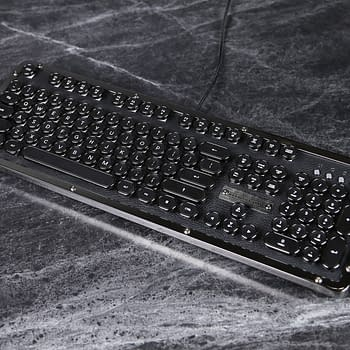 Going Really Old-School: We Review the AZIO Retro Classic Gaming Keyboard