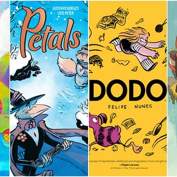 4 KaBOOM Previews for All-Ages Summer Reading: Adventure Time Dodo RuinWorld and Petals