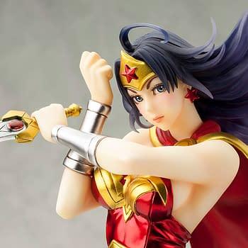 Wonder Woman Gets a 2nd Edition Statue with Kotobukiya