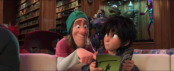 Howard Starl's Moment of Glory From Big Hero 6