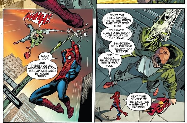 Spider-Man's Tackling of Street Crime is Rather Ineffective – How's That Great Responsibility Holding Up?