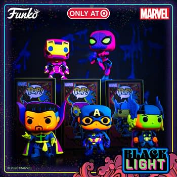 Funko Announces Marvel Black Light Series Exclusive to Target