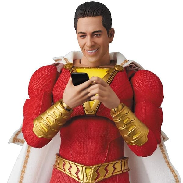 Shazam MAFEX Figure is Up For Order Right Now