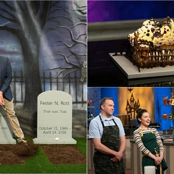 Halloween Baking Championship Episode 5 Gravely Delicious Desserts: Wheres the Halloween in Their Baking [SPOILER REVIEW]