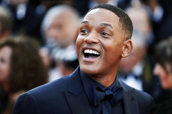 Will Smith attends the 70th Anniversary during the 70th annual Cannes Film Festival on May 23, 2017 in Cannes, France. Editorial credit: Andrea Raffin / Shutterstock.com