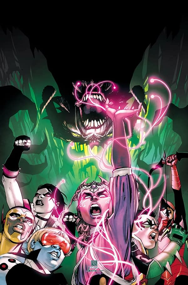 In April's Teen Titans #41... a Teen Titan WILL DIE!