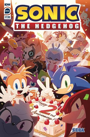 Sonic The Hedgehog Annual 2020 Cover A