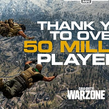 Call Of Duty Warzone 50 Million