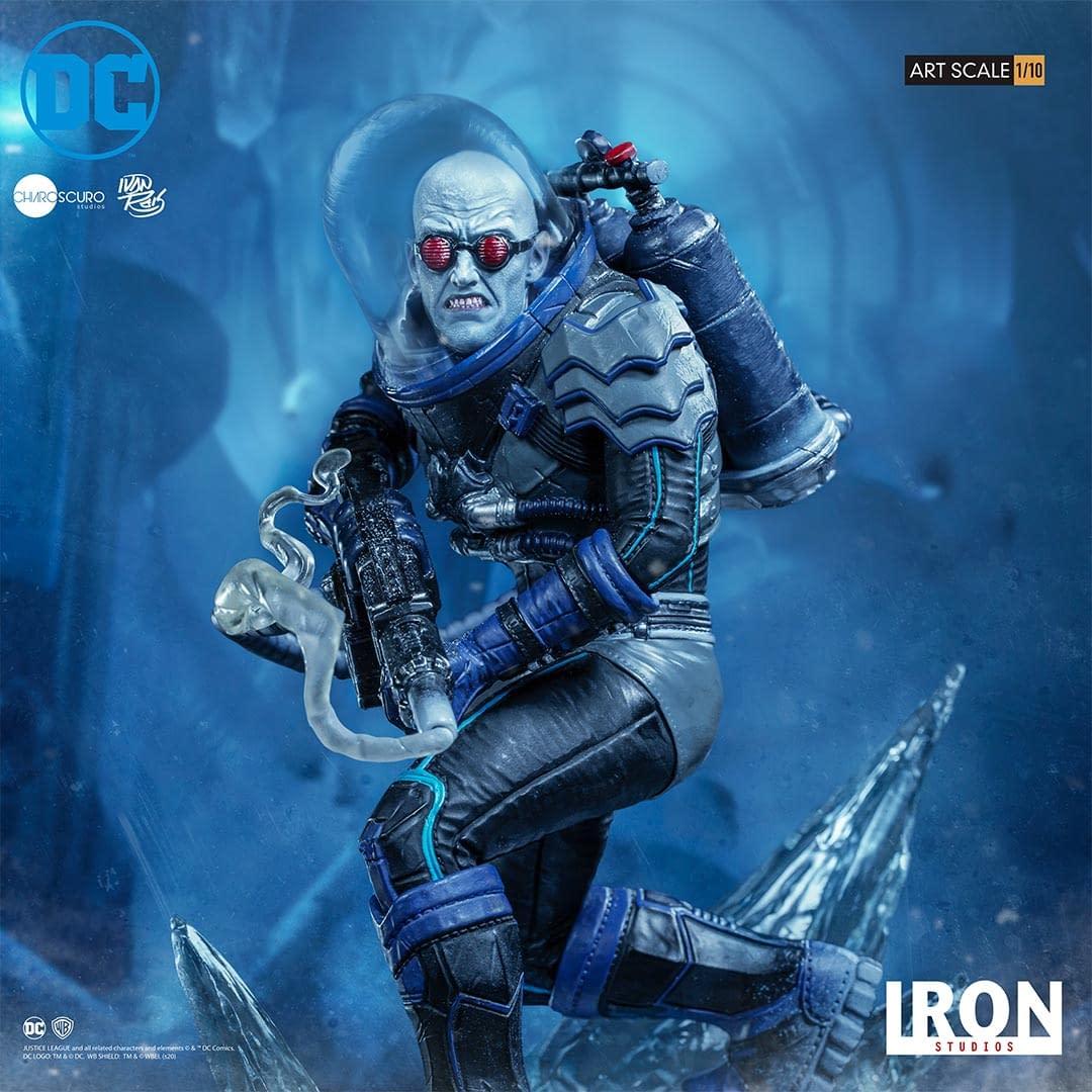 Statue de M. Freeze Art à l'échelle 1/10 DC Comics d'Iron Studios