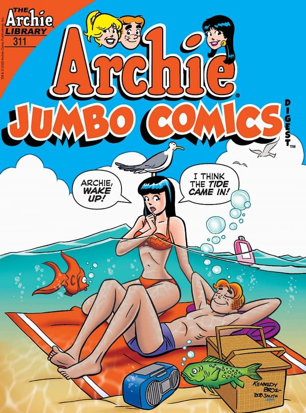 The cover of Archie Jumbo Comics Digest #311.