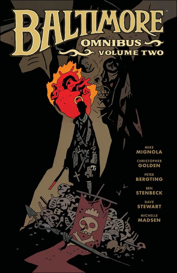 The cover to Baltimore Omnibus Vol. 2 from Dark Horse Comics.