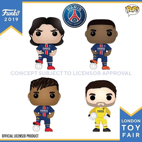 Funko London Toy Fair Football 1