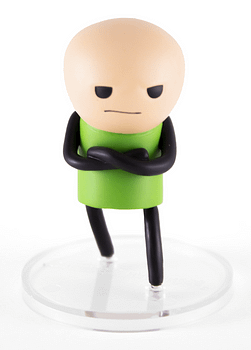 Green Shirt Guy SDCC Cyanide and Happiness Figures