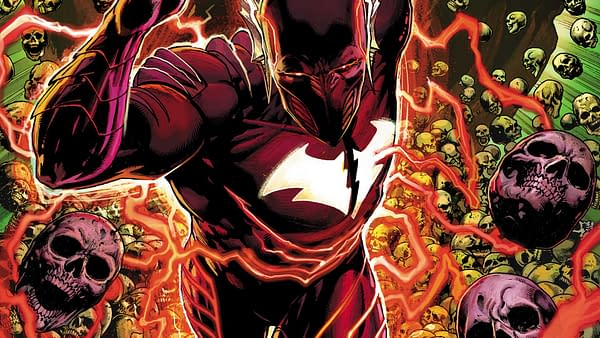 Cover to Batman: The Red Death #1 by Jason Fabok and Dean White