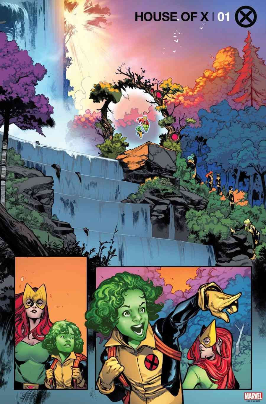 A New Look at Jonathan Hickman's House of X and Powers of X Ahead of X-Men Relaunch