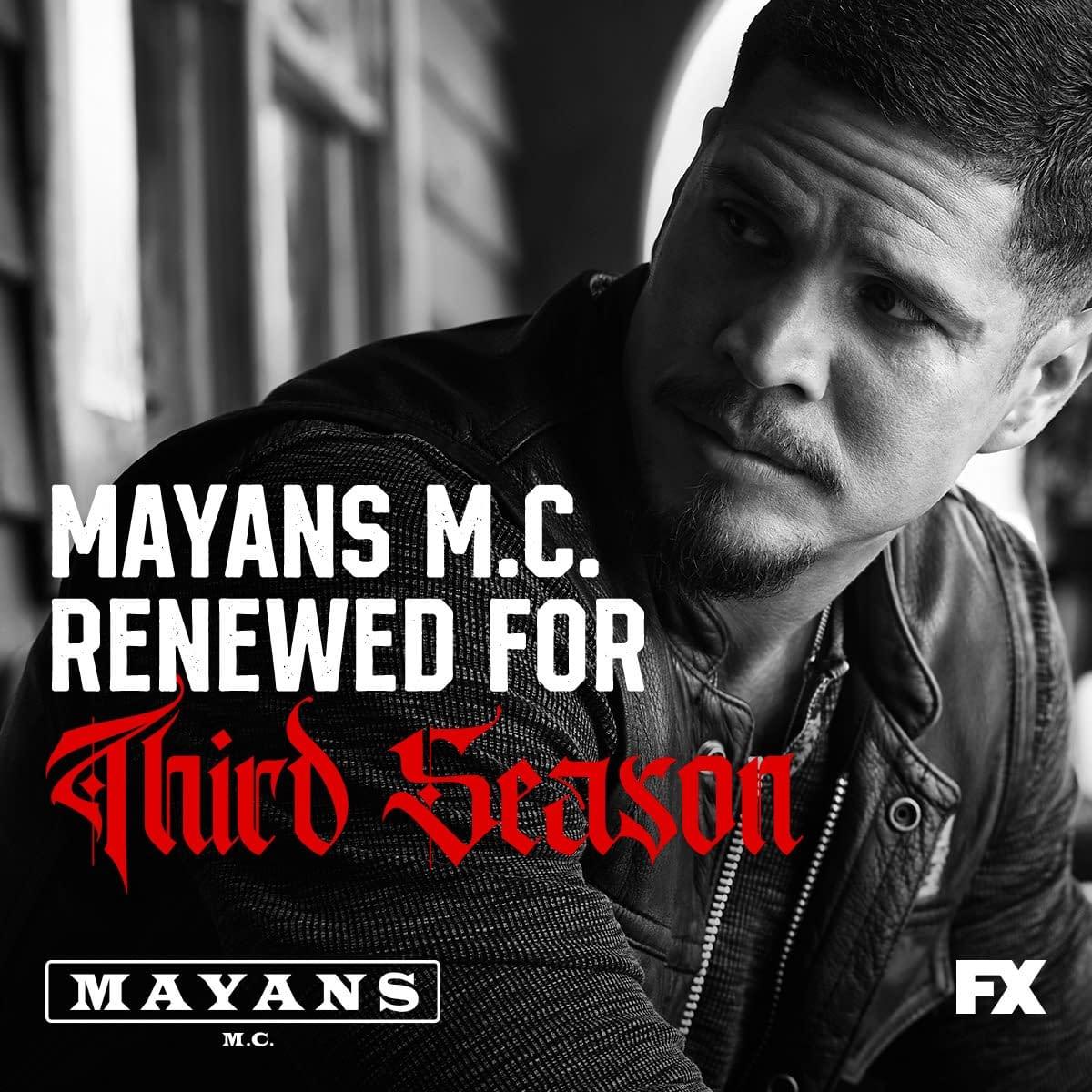 """Mayans M.C."": FX Greenlights Season 3; Elgin James Set as Showrunner"