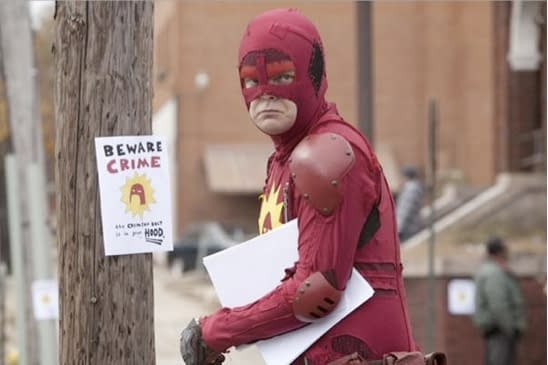Moral Issues And Colourful Costumes In The First Clip From James Gunn's Super