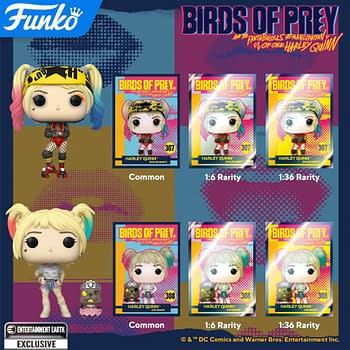 Birds of Prey Gets Crazy With New Funko Pop Figures