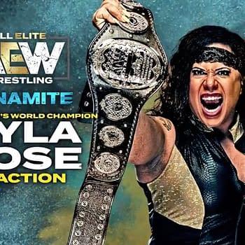 AEW Champion Nyla Rose returned to Dynamite on Wednesday.