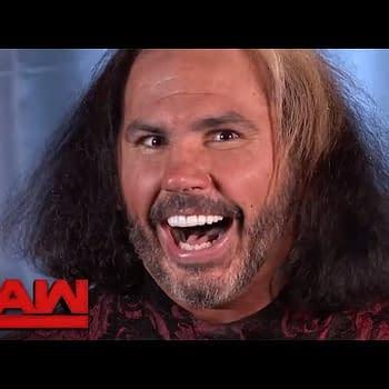Matt Hardy Was Fully Woken on Monday Night Raw Last Night