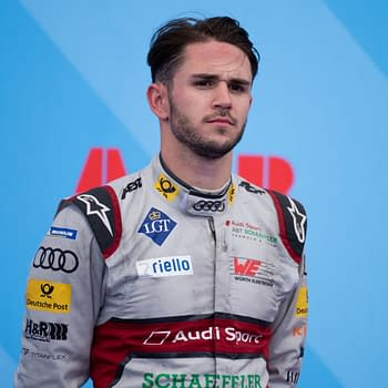 Daniel ABT from Audi Sport ABT Schaeffler, arrived at third place at the ePrix ABB FIA Formula-E, the class of motorsport 100% electric-powered cars. Editorial credit: Frederic Legrand - COMEO / Shutterstock.com